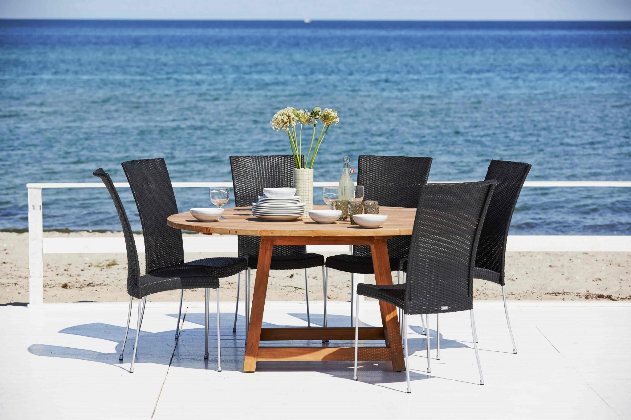 George teak Tisch rund 160 cm - Nordische Wohnkultur - Onlineshop zu ...