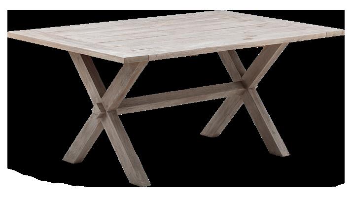 Colonial Teakholz-Tisch 100x160