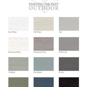 Painting the Past Outdoorfarbe Soft Black